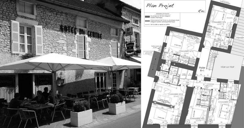 Rénovation d'un hôtel de charme - Julie Béringué Architecte d'intérieur à Toulouse